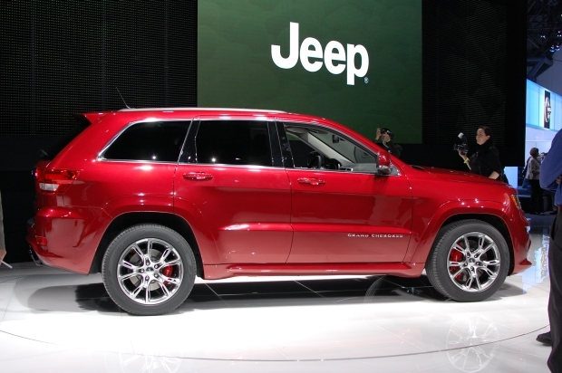 Don't miss the new Jeep Grand Cherokee SRT8, the fastest Jeep ever.