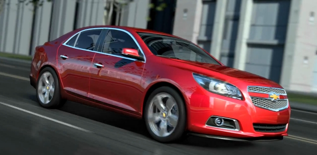 The 2013 Chevrolet Malibu and its MyLink system debut at the Shanghai auto show and worldwide via YouTube.