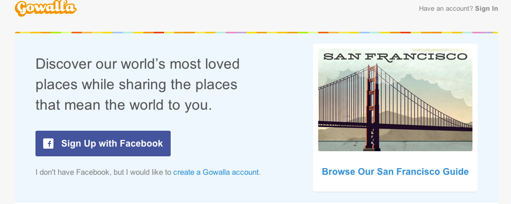 Gowalla is reportedly being acquired by Facebook.