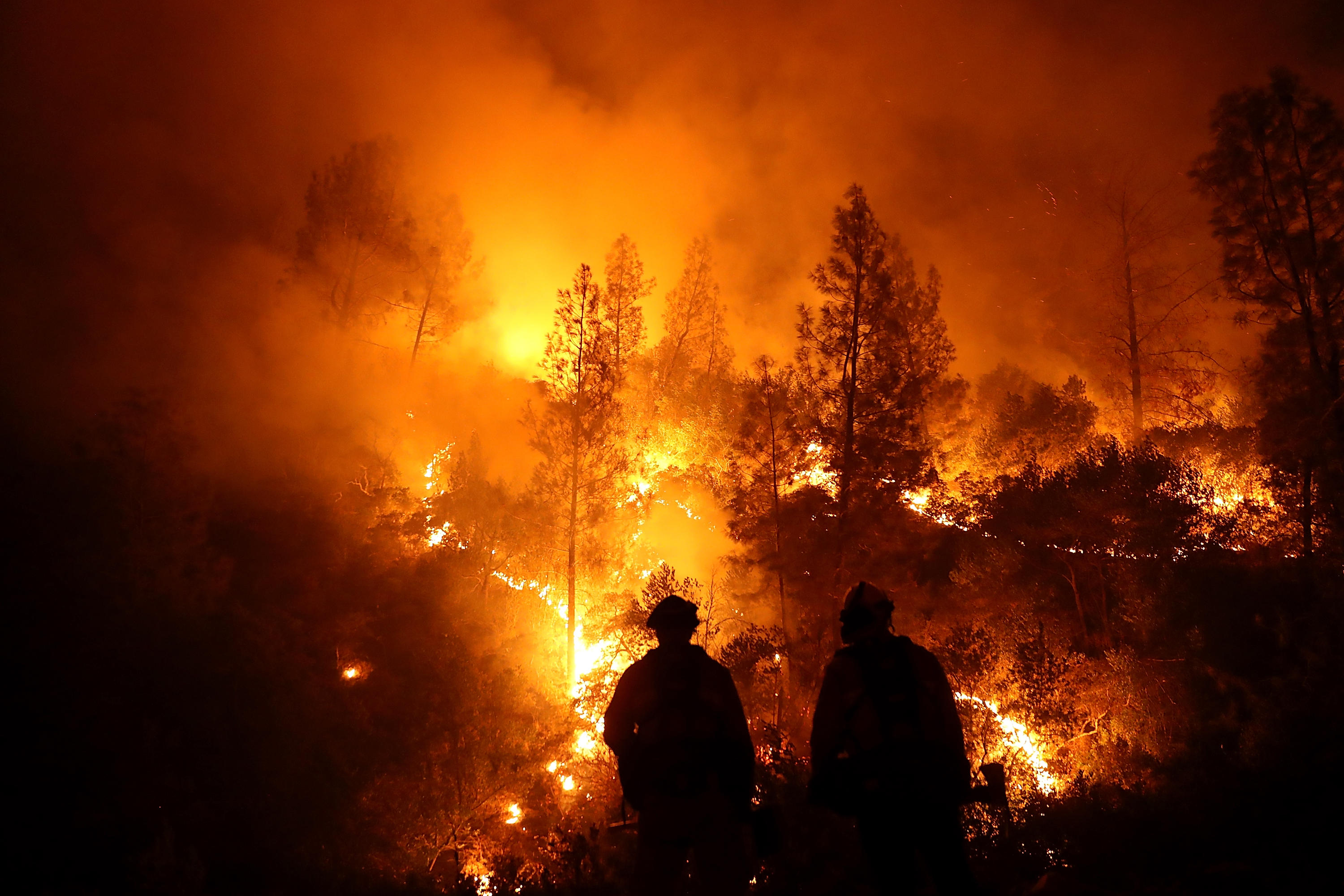 Mendocino-Complex Fire In Northern California Grows To Largest Fire In State's History