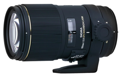 Sigma's upcoming image-stabilized 150mm macro lens.