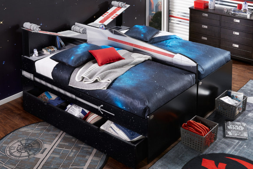 X-wing bed