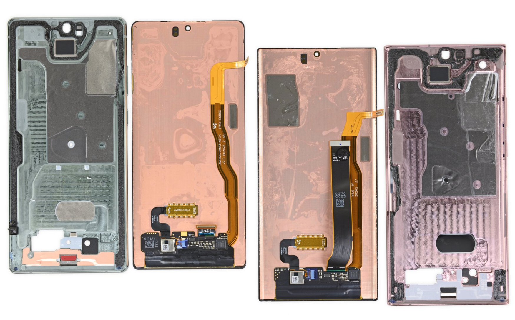 iFixit uncovers two different Note 20 cooling systems