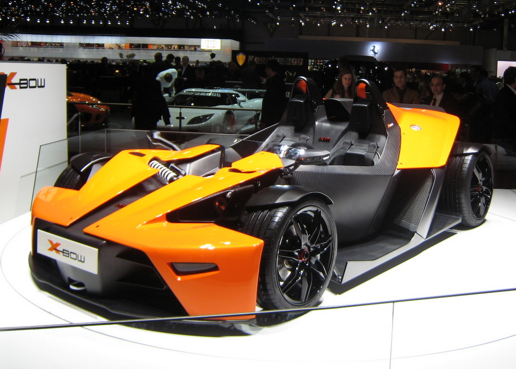 The X-Bow was built by a motorcycle maker.