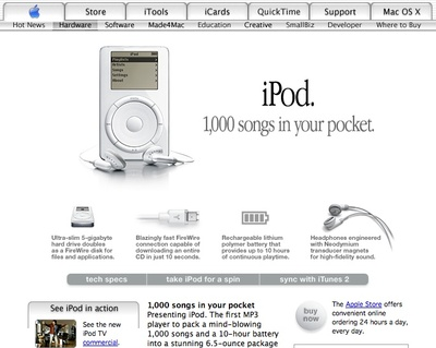 First-generation Apple iPod