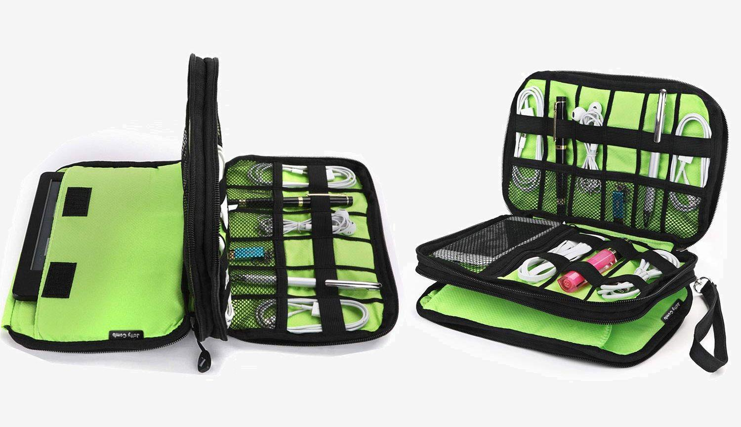 jelly-comb-electronics-organizer-bag-green-and-black