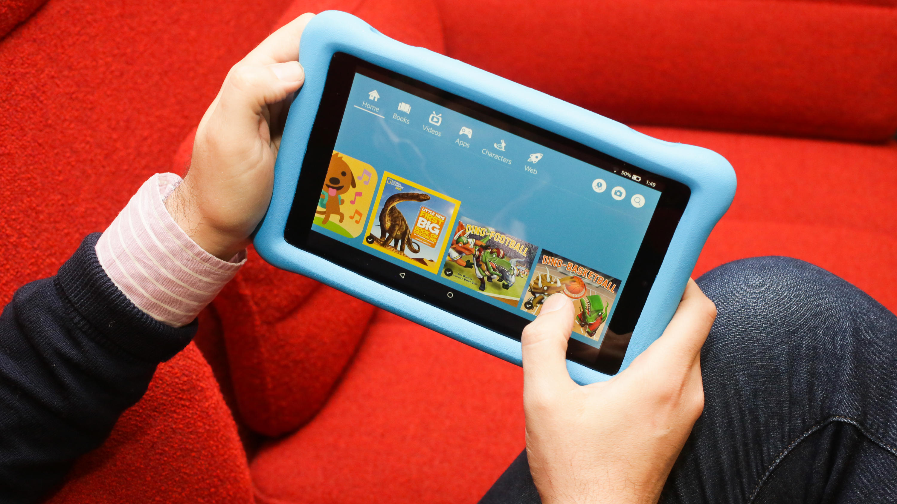 Amazon Fire Hd 8 Kids Edition Review An Amazing Value Cnet