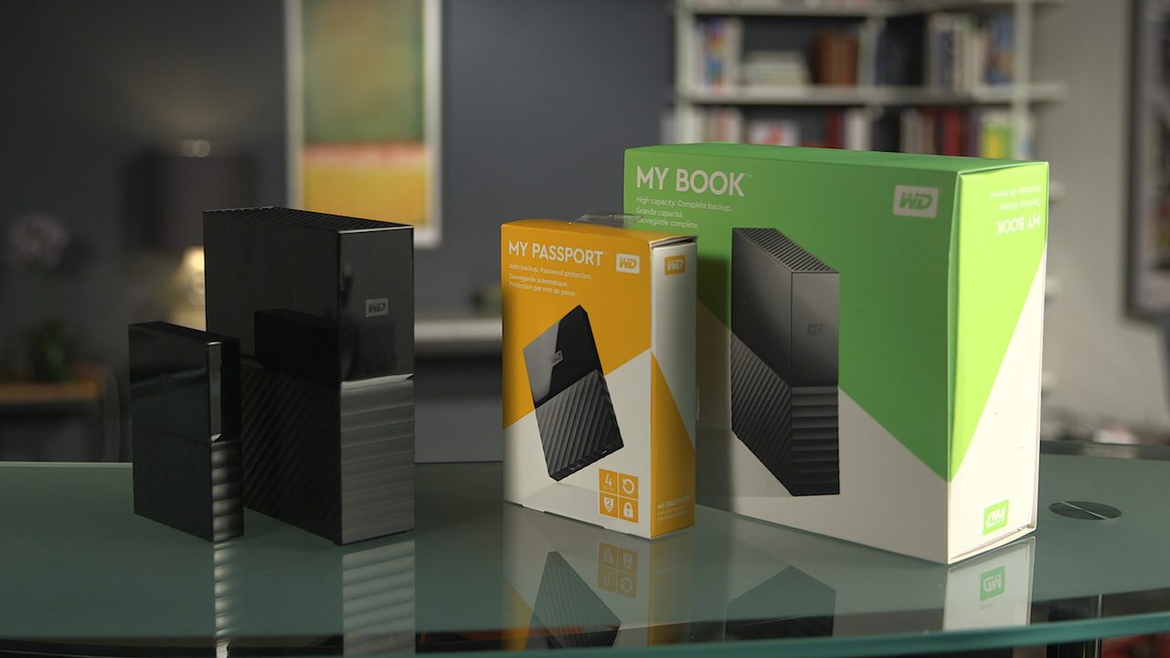 Video: WD's new My Book and My Passport external drives are capacious