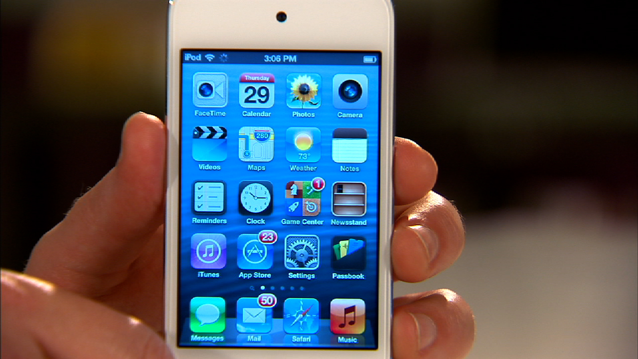 Video: Apple iPod Touch (4th generation)