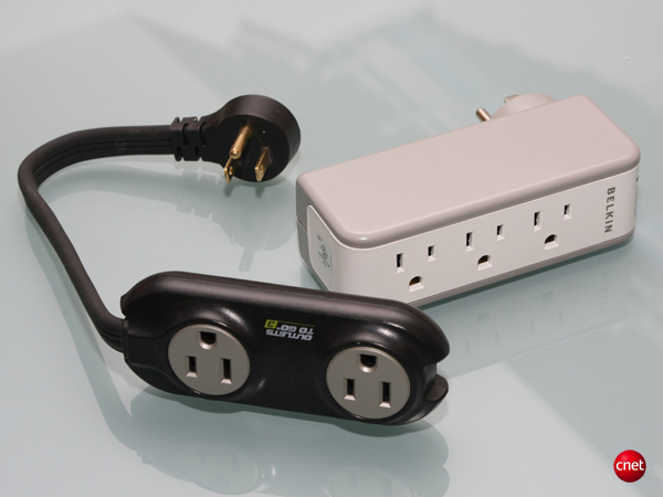 Belkin Mini Travel Surge Protector with AC Charger, Monster Power To Go