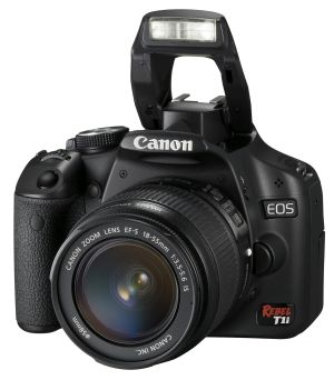 Canon's T1i can shoot HD video and costs $800 including a basic lens.