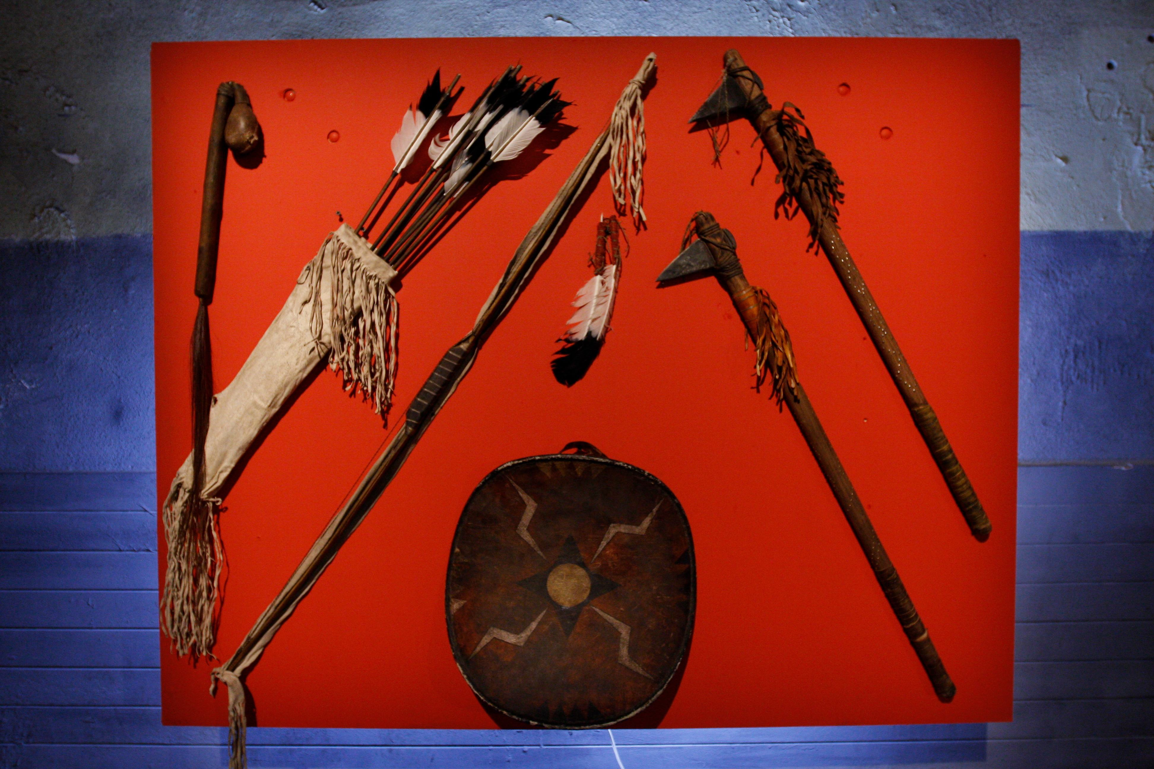 Comanche weapons collection