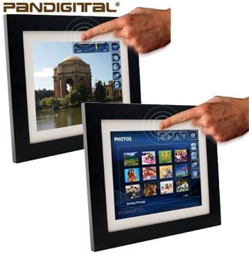 These 10.4-inch photo frames rock a touch-screen interface, Wi-Fi, Bluetooth, and other goodies.