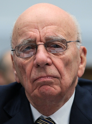 Rupert Murdoch, chairman of News Corp., which owns both The News of the World and The Sun, as well as The Wall Street Journal.
