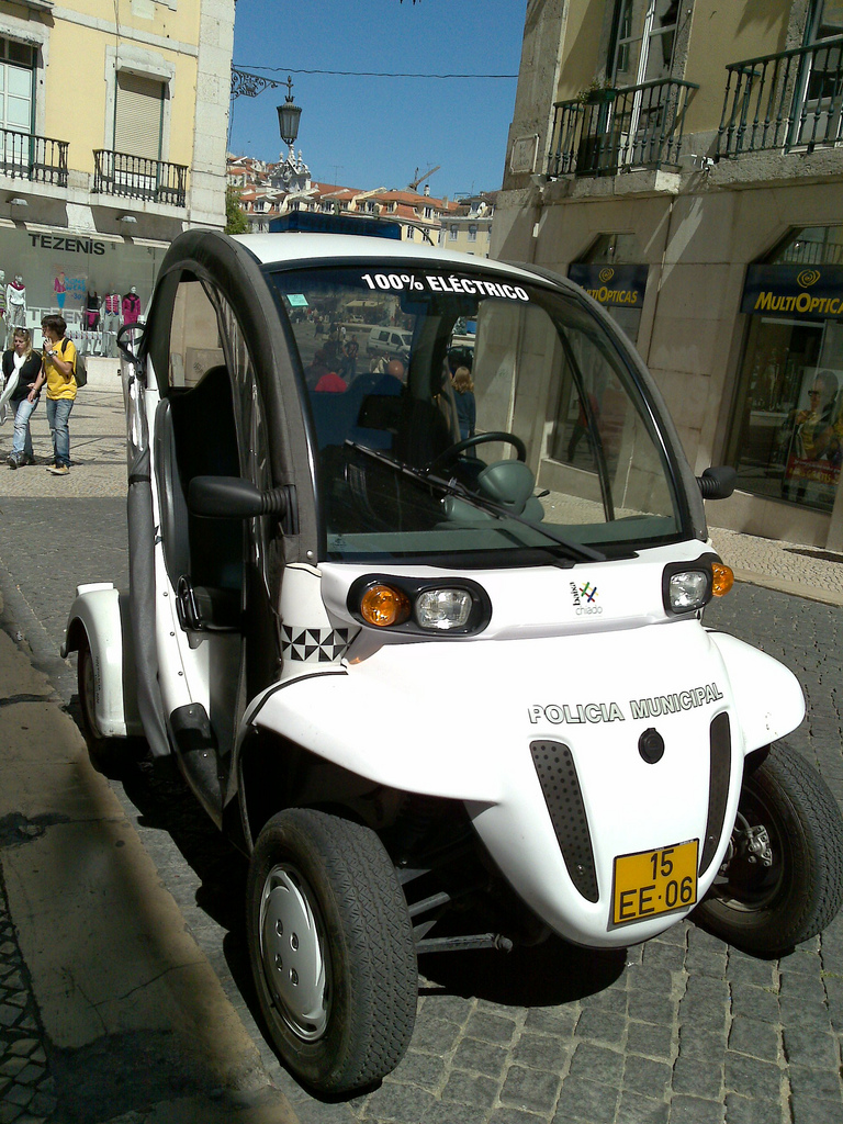 The future of the police car?