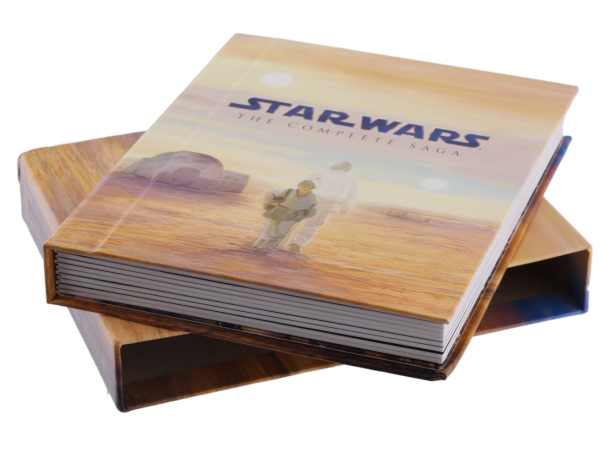 """""""Star Wars: The Complete Saga"""" on Blu-ray is a top-seller."""