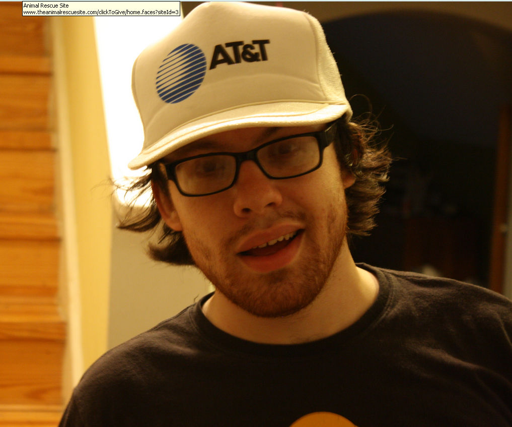 """Andrew Auernheimer, aka """"Weev,"""" in a photo from earlier this year."""