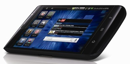 Dell's Streak uses Google's Android operating system and a processor based on an ARM design. No Intel or Microsoft here.