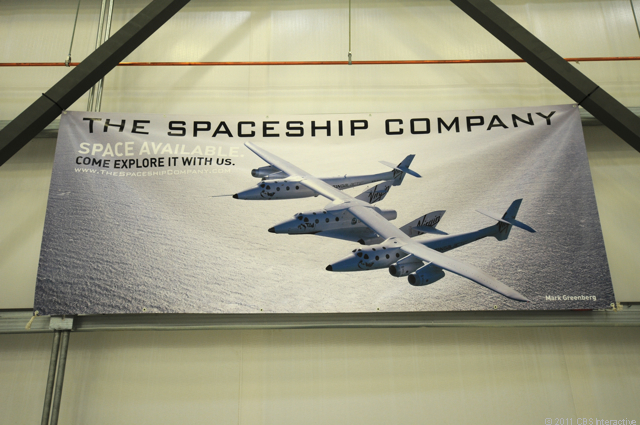 The Spaceship Company sign