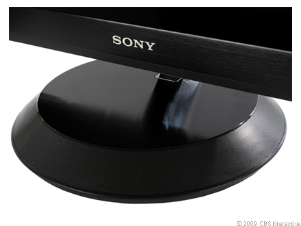 Sony KLV-40ZX1M stand detail