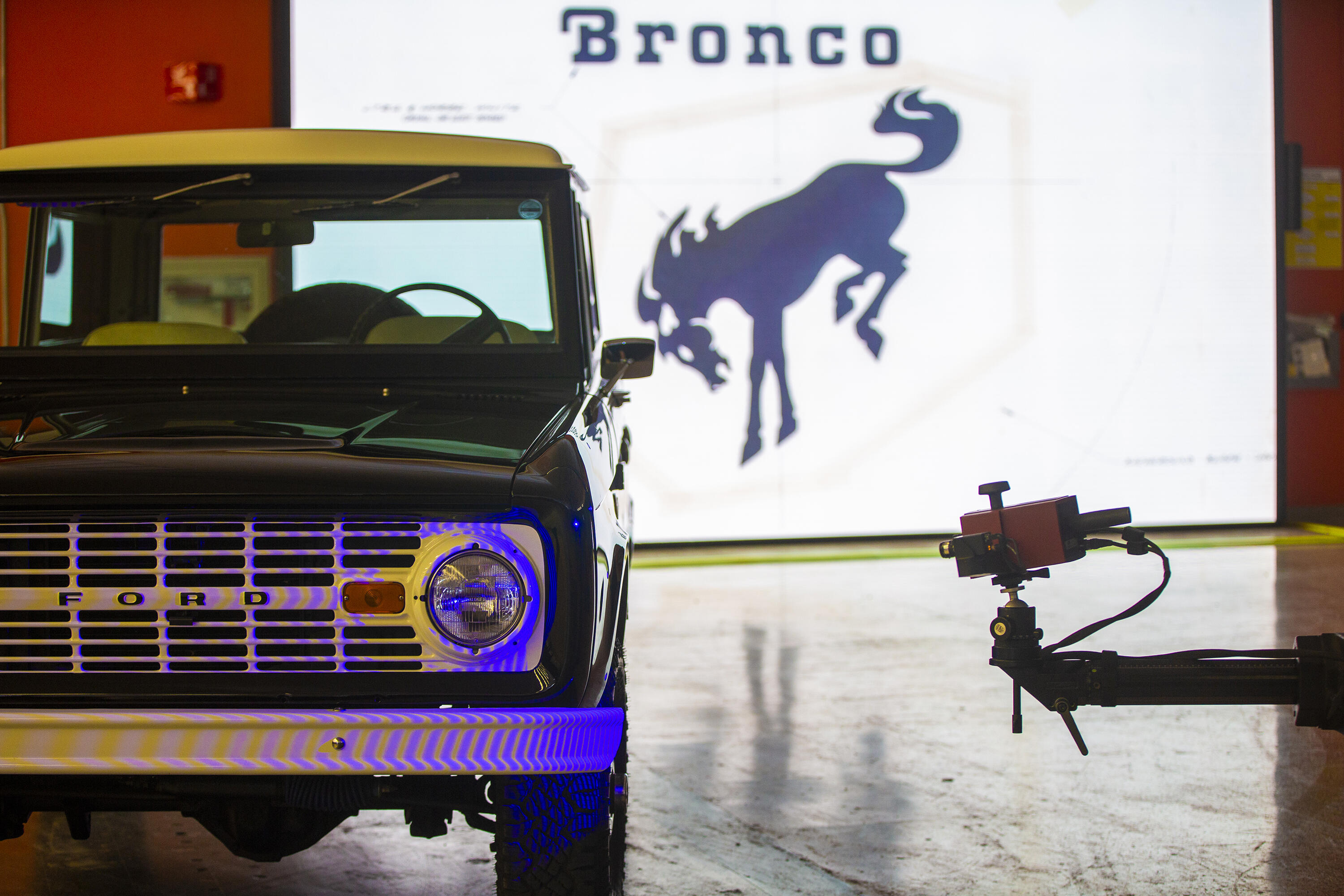 3D scanned Ford Bronco