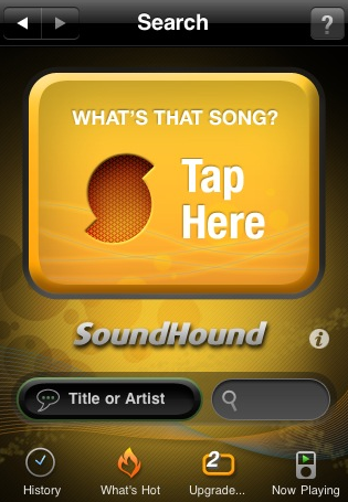 Free SoundHound for iPhone