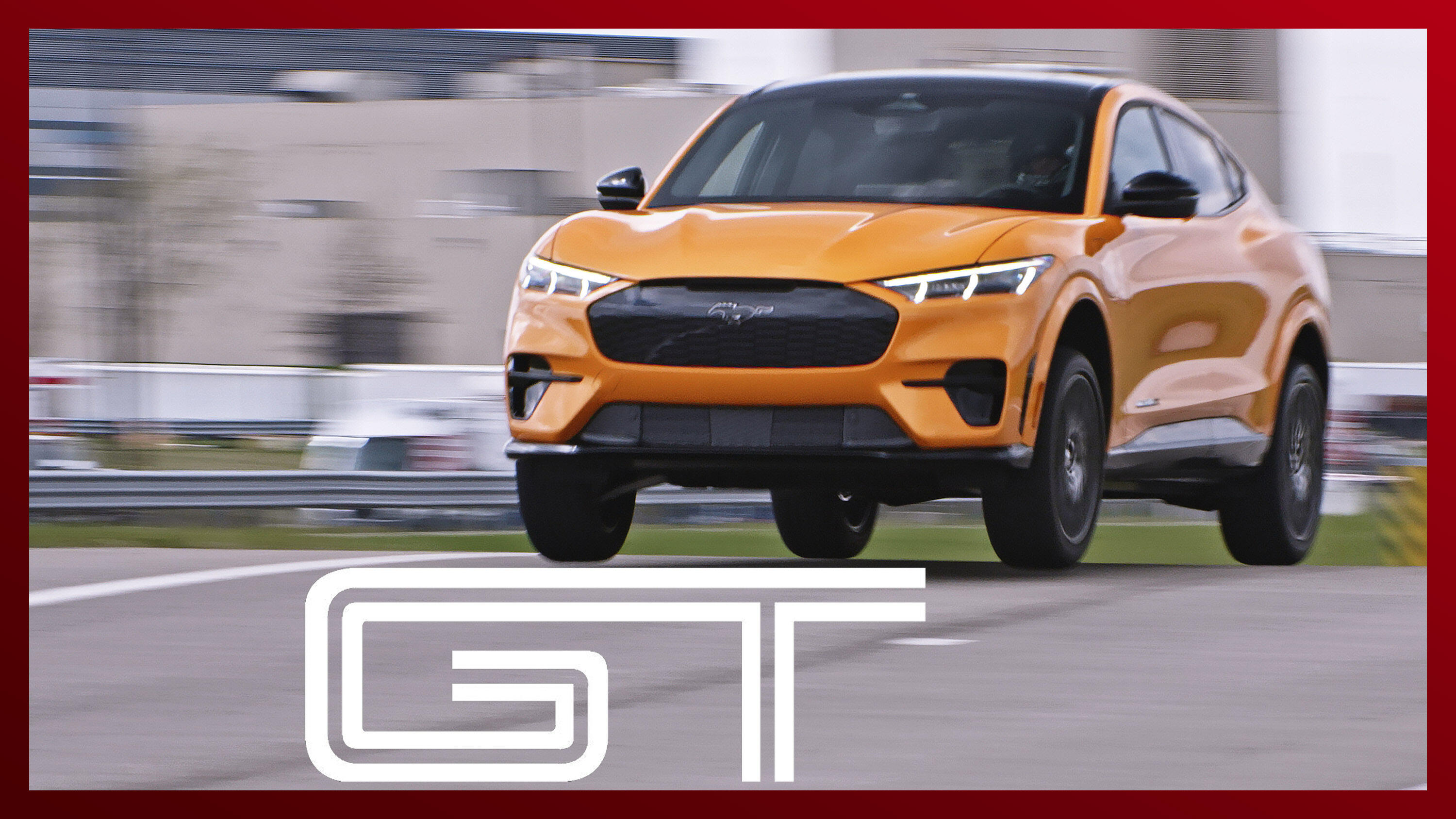 Video: 2021 Ford Mustang Mach-E GT - exclusive ridealong