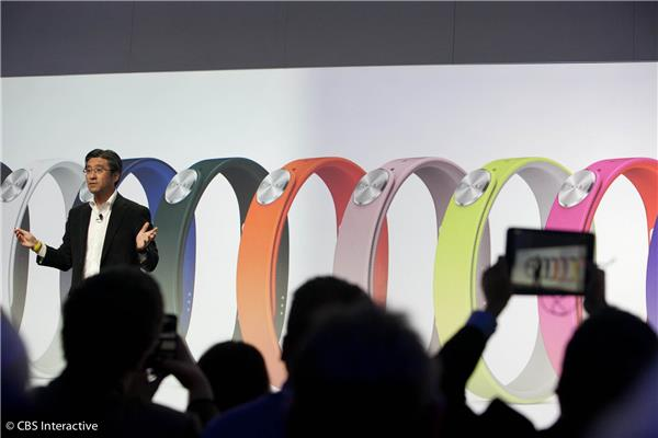 Sony's wearable Core excites audience at CES 2014