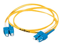 Axiom AX - network cable - 98 ft - yellow