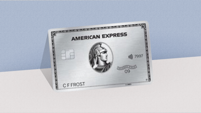the platinum card from american