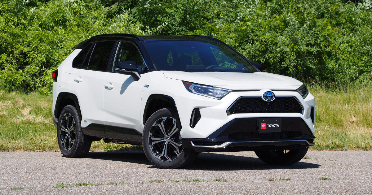 2021 Toyota Rav4 Prime First Drive Review Have Your Cake And Eat It Too Roadshow