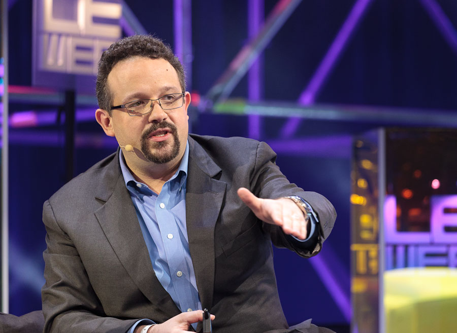 Evernote CEO Phil Libin speaking at LeWeb.
