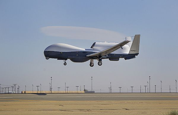 Triton unmanned aircraft