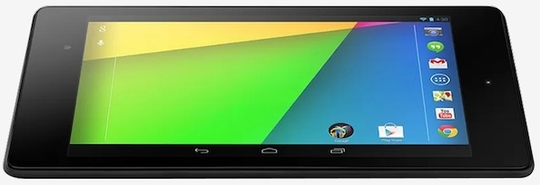 Second-generation Nexus 7. The timing of the LTE model has not been announced in the U.S.