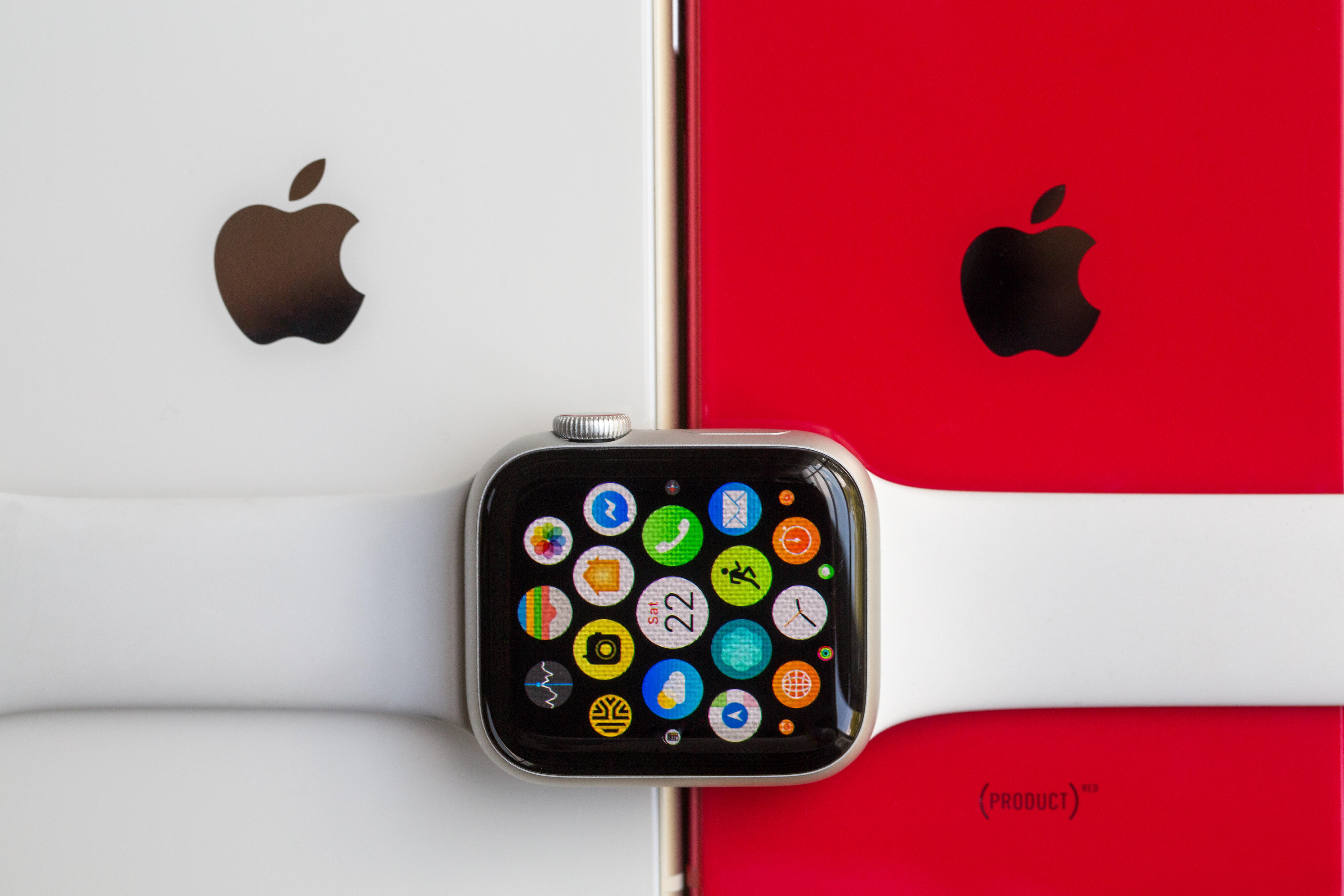 Apple Watch and iPhone 13