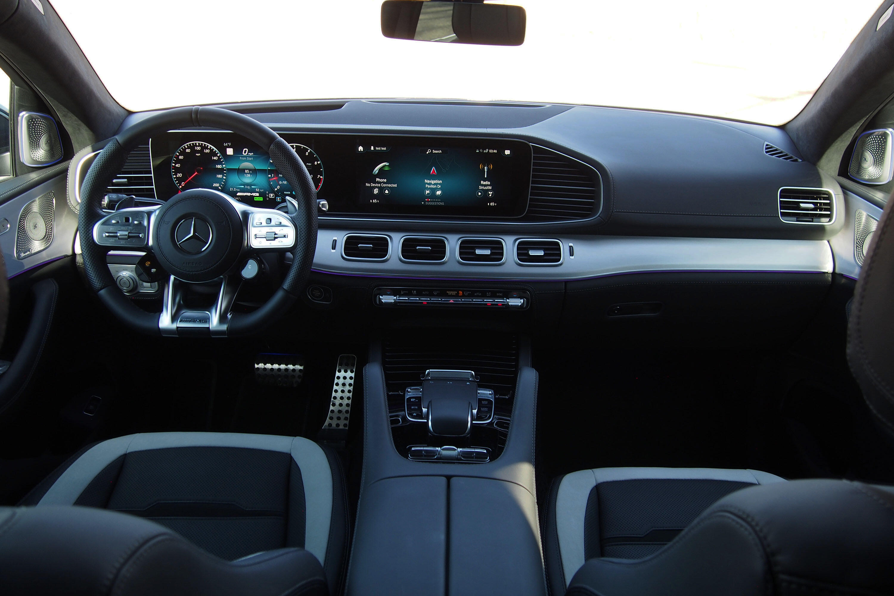 2021 Mercedes AMG GLE63 S Coupe - interior