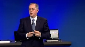 Intel CEO speaks at Intel Investor day today.
