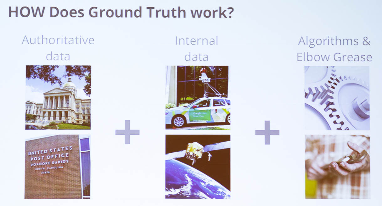 Google's Ground Truth mapping
