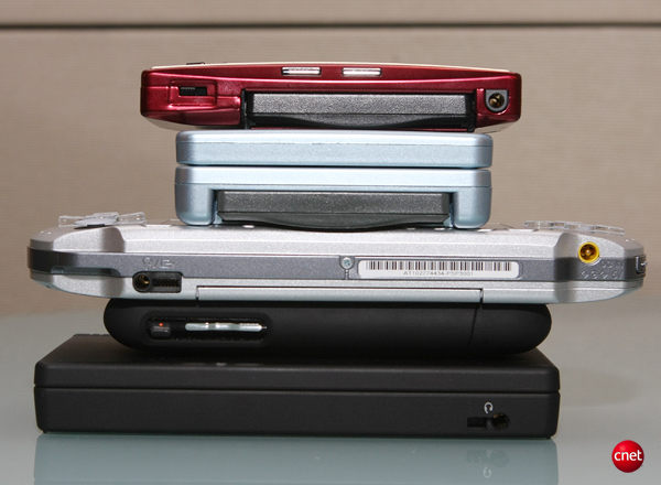 Game Boy Micro: it still sizes up nicely