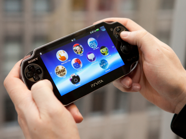 Sony's PlayStation Vita is available now.