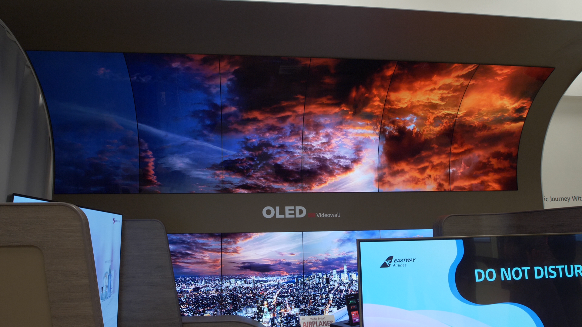 Video: LG Display's first-class airline displays are bonkers