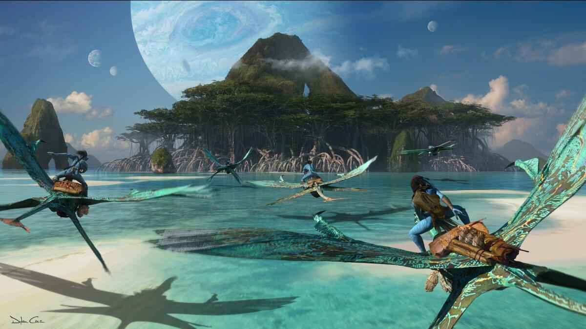 Concept art for the Avatar sequels