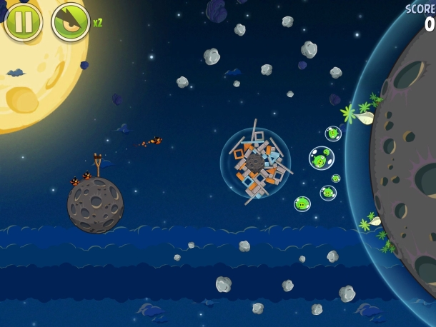 Angry Birds Space won't be coming to Windows Phone 7.