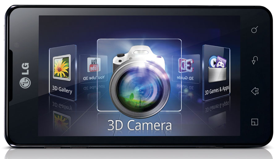 LG announced its Optimus 3D Max Android phone in conjunction with Mobile World Congress.