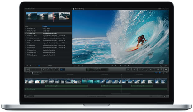 Supplies are easing for Apple's Retina MacBook Pro.