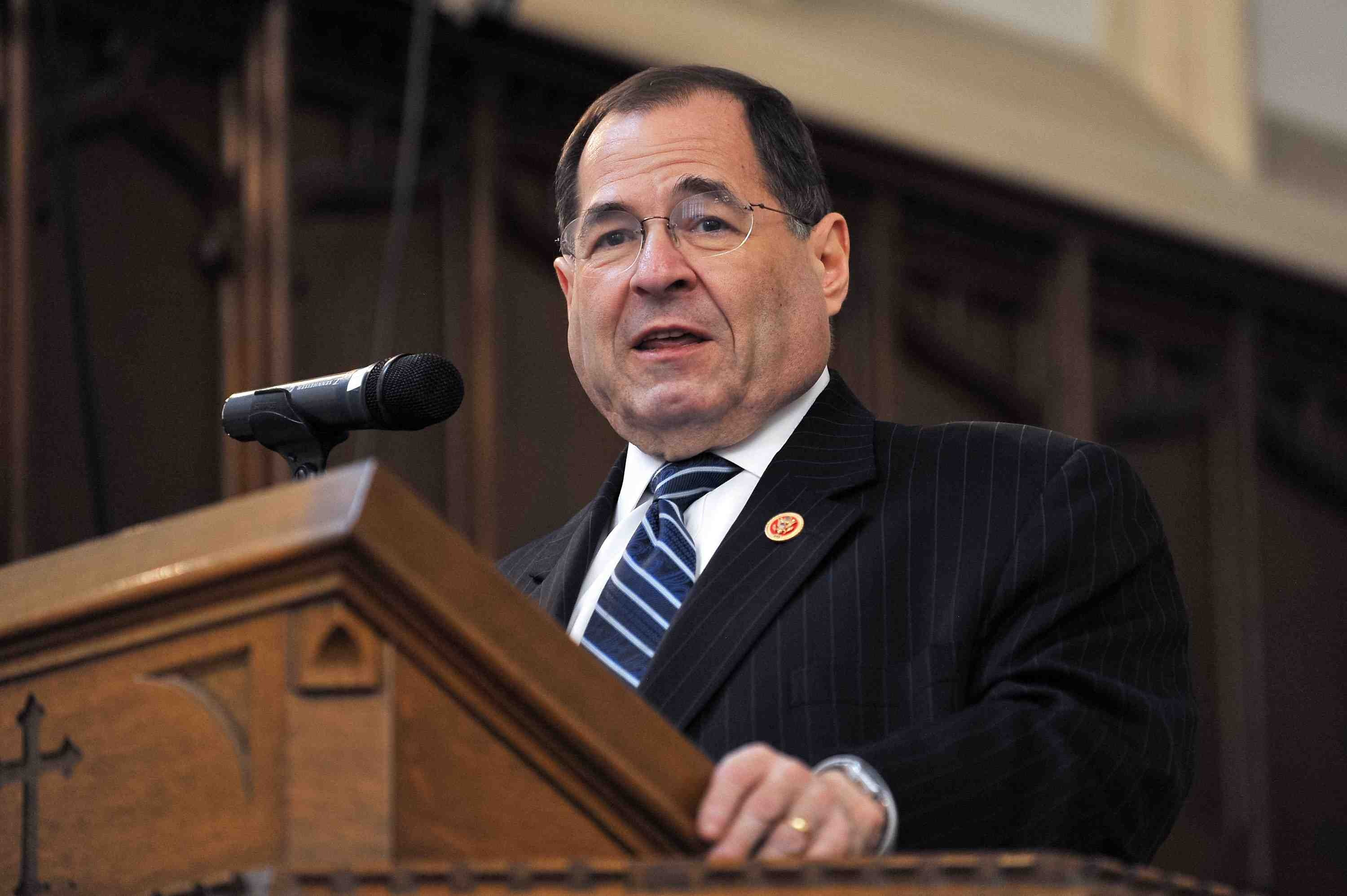 """Rep. Jerrold Nadler, an attorney and member of the House Judiciary committee, who said he was """"startled"""" to learn that NSA analysts could eavesdrop on domestic calls without court authorization."""