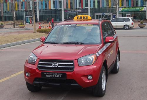 ZAP Jonway delivered the first electric taxi to Samyang Optics. Several new EVs will be on display at the automotive engineering technology expo July 14 to July 16, 2010 at the Coex exhibition center in Seoul, South Korea.