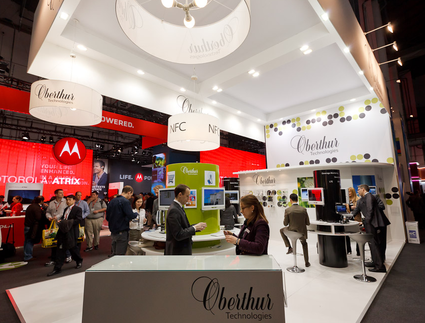A host of companies were showing off NFC-related technologies at Mobile World Congress 2011.