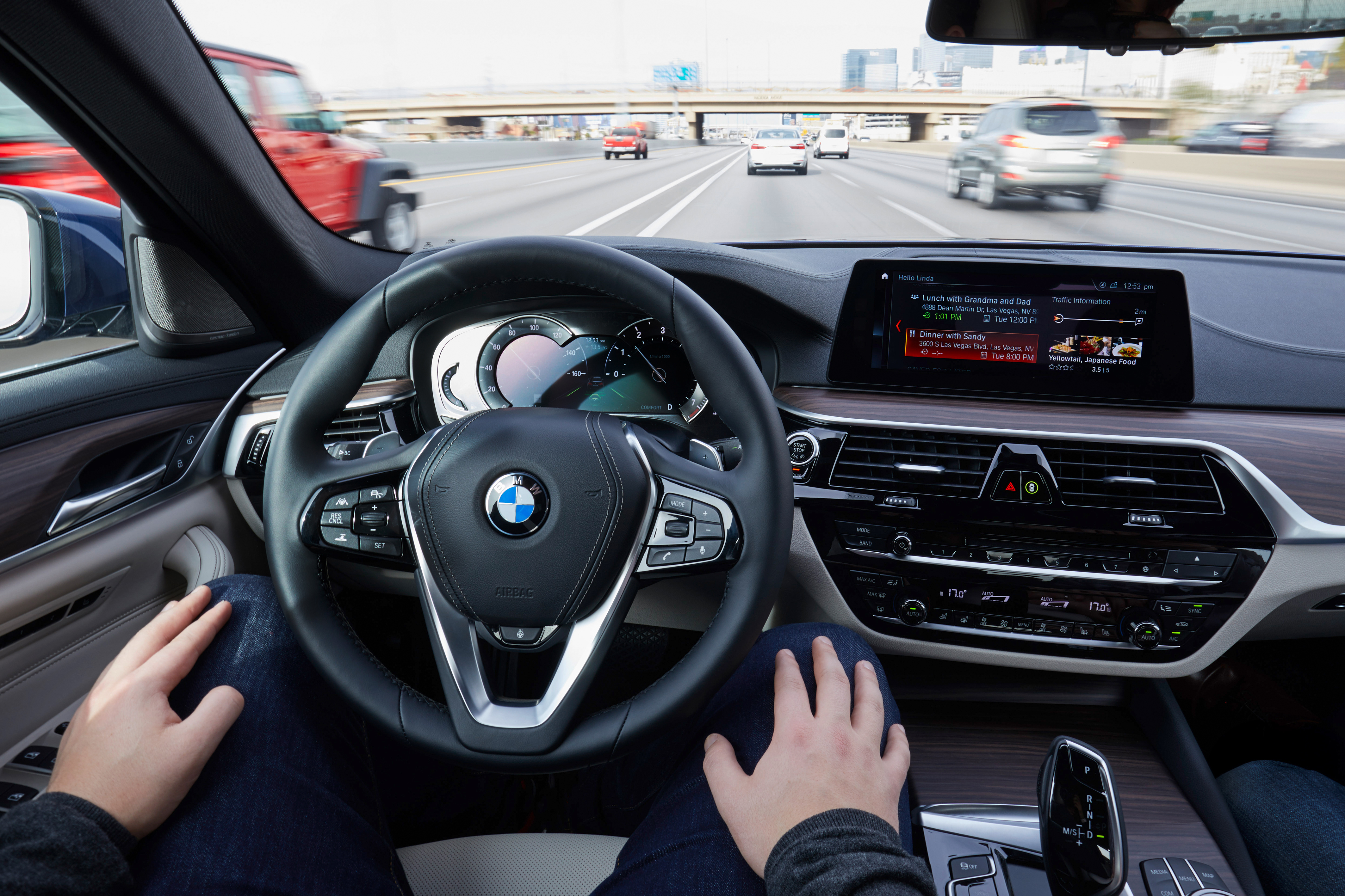 BMW 5-series automated driving