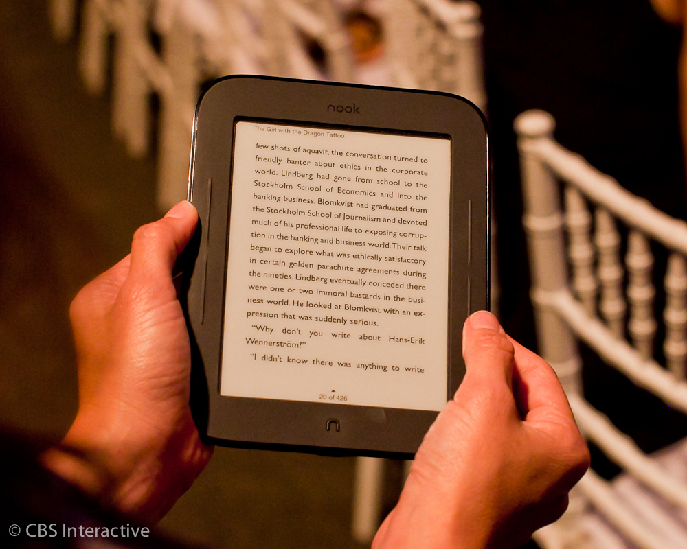 Barnes & Noble Nook Simple Touch Reader (Wi-Fi)